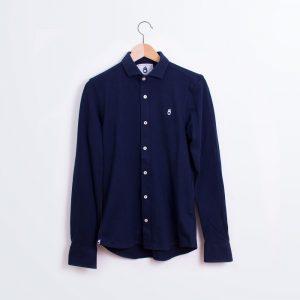 polo-camisa-azul-manga