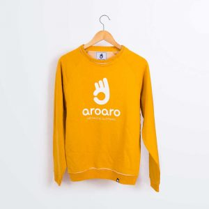 sudadera optimistic mostaza 1