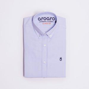 camisa celeste claro 4